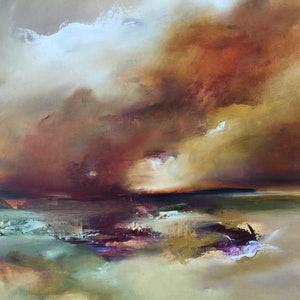 (CreativeWork) The Runaway by Joanne Duffy. oil-painting. Shop online at Bluethumb.