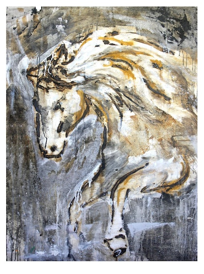 (CreativeWork) Brumby by James Kearns. print. Shop online at Bluethumb.