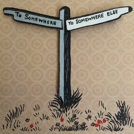 (CreativeWork) Somewhere Else by P. James Bryans. Print. Shop online at Bluethumb.