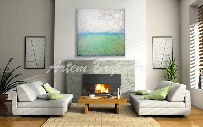 (CreativeWork) Reflections  by Artem Bryl. Mixed Media. Shop online at Bluethumb.