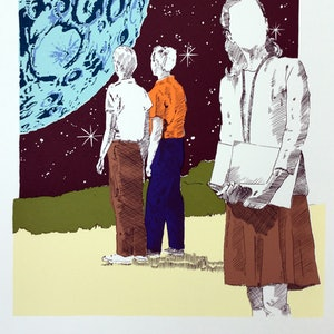 (CreativeWork) 'Space Kids' Ed. 2 of 5 by P. James Bryans. #<Filter:0x00007fef418fd620>. Shop online at Bluethumb.