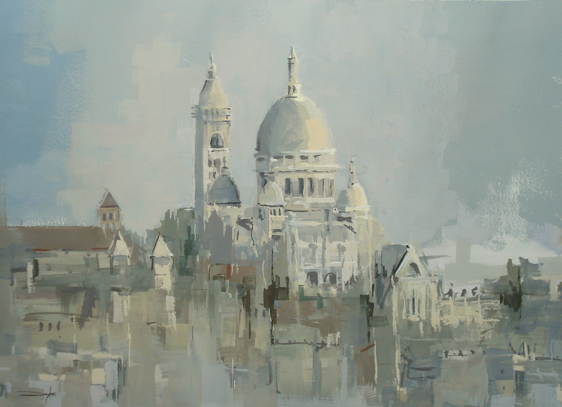 (CreativeWork) Sacré-Cœur from Musée d'Orsay by Dylan Shearsby. other-media. Shop online at Bluethumb.
