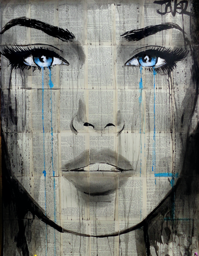 (CreativeWork) CONSIDERED THINGS by loui jover. drawing. Shop online at Bluethumb.