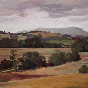 (CreativeWork) Tarrawarra No2 by Peter Roccella. oil-painting. Shop online at Bluethumb.