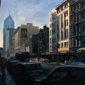 (CreativeWork) Elizabeth Street No2 by Peter Roccella. #<Filter:0x000055cde992f1f0>. Shop online at Bluethumb.