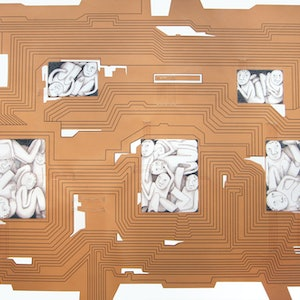 (CreativeWork) State Circuitry by Mona Choo. mixed-media. Shop online at Bluethumb.