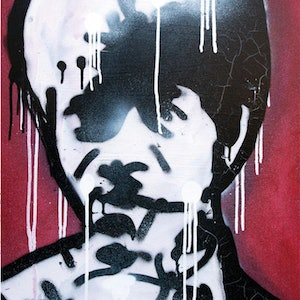 (CreativeWork) Pulpfiction by INDO The Artist. print. Shop online at Bluethumb.