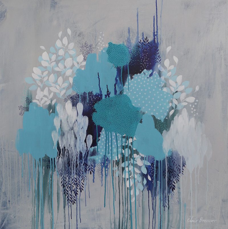 (CreativeWork) Grey Days by Clair Bremner. arcylic-painting. Shop online at Bluethumb.