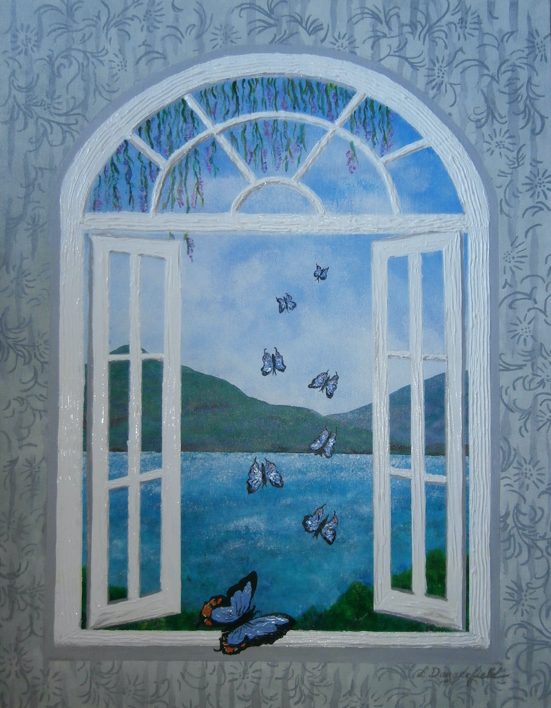 (CreativeWork) IMPERIAL VISIT by Lisa Dangerfield. arcylic-painting. Shop online at Bluethumb.