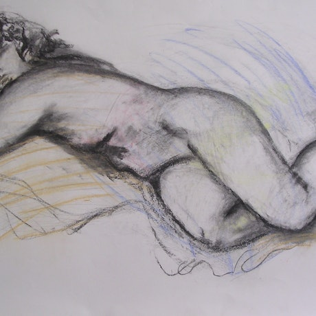 (CreativeWork) DREAMING OF YOU by Chris Rowe. Drawings. Shop online at Bluethumb.
