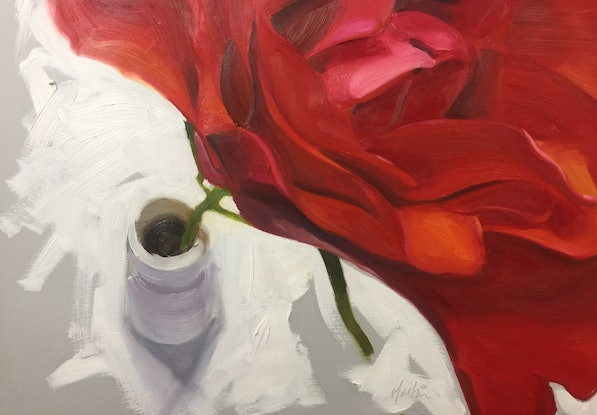 (CreativeWork) A rose by any other name by Chris Martin. Oil Paint. Shop online at Bluethumb.