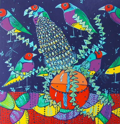 Banksia and Birds