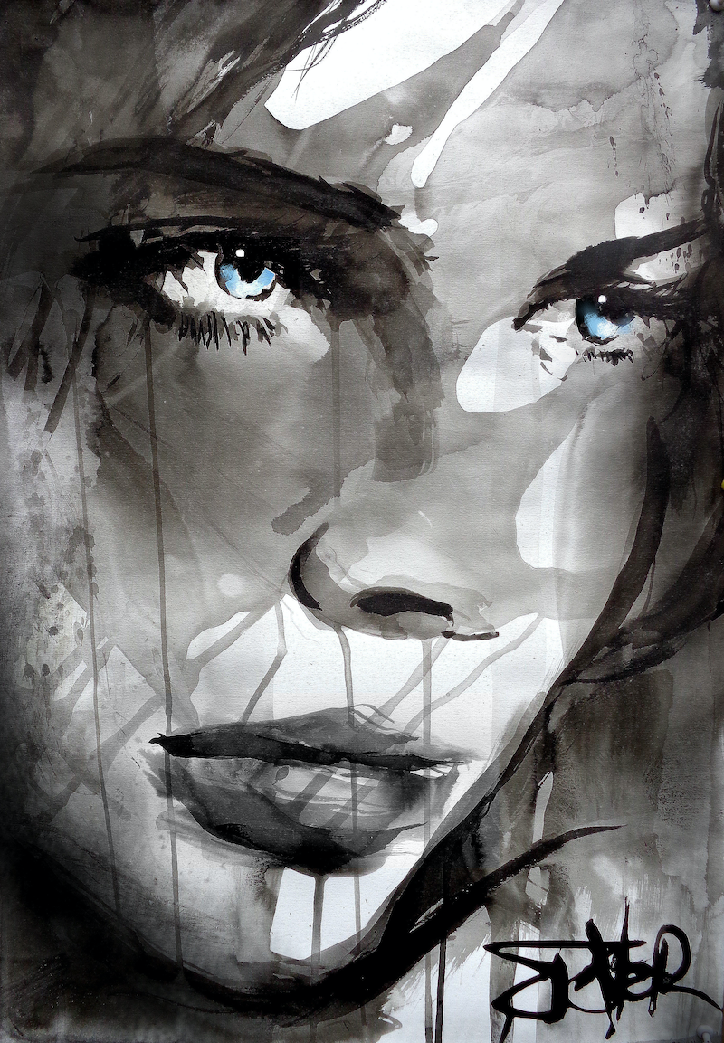 DRAW by loui jover. Paintings for Sale. Bluethumb - Online Art Gallery