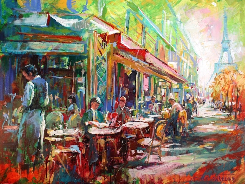 French Cafe By Jos Coufreur