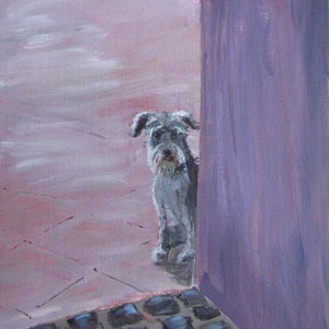 (CreativeWork) Waiting is an Art Form by Katherine Spadaro. arcylic-painting. Shop online at Bluethumb.
