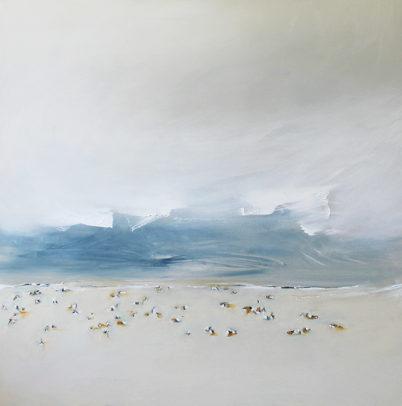 (CreativeWork) Bondi Desert VI by Nicole Maguire. oil-painting. Shop online at Bluethumb.
