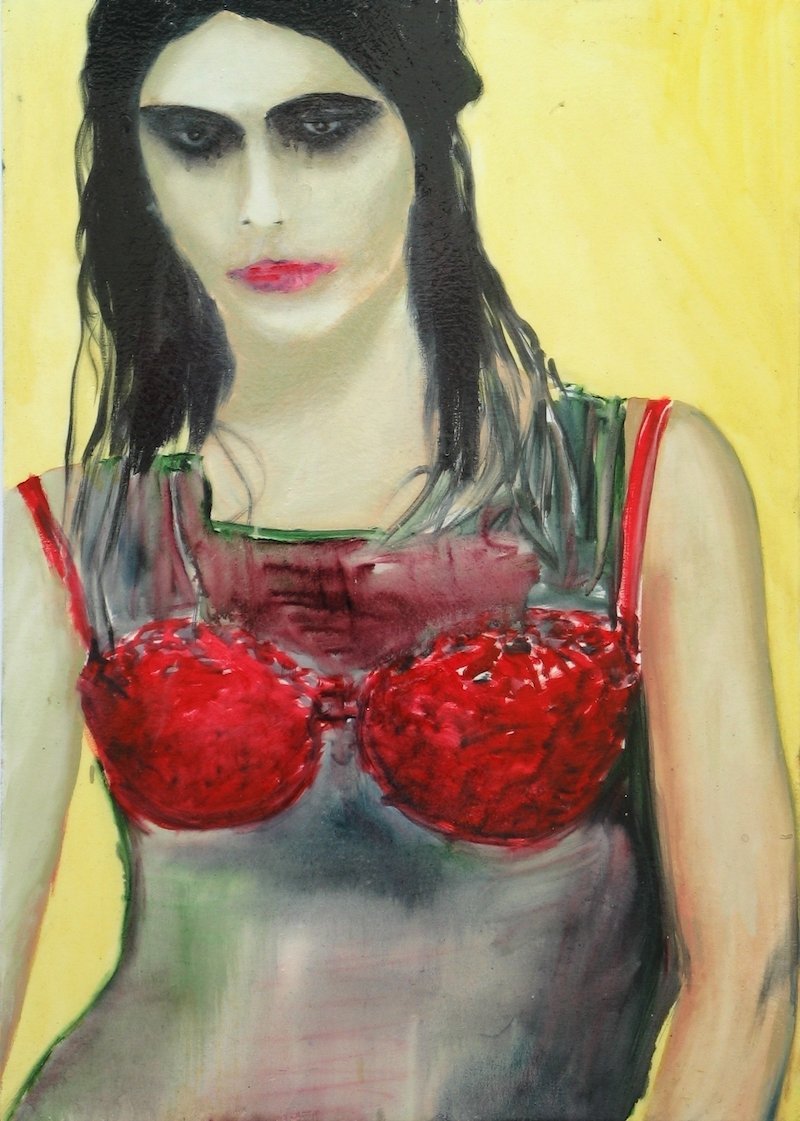 (CreativeWork) Polly by Josh Honeyman. oil-painting. Shop online at Bluethumb.