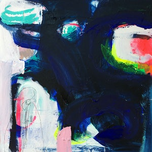 (CreativeWork) REBELLION #2 by Emma Ball. arcylic-painting. Shop online at Bluethumb.