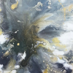 (CreativeWork) Gold Rush by Andrea Edwards. arcylic-painting. Shop online at Bluethumb.