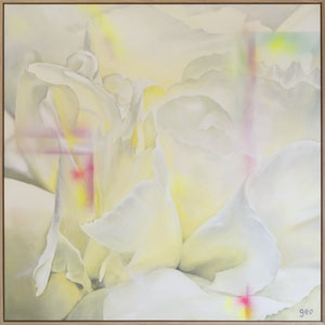 (CreativeWork) If You Like Pina Coladas by Georgie Wilson. arcylic-painting. Shop online at Bluethumb.