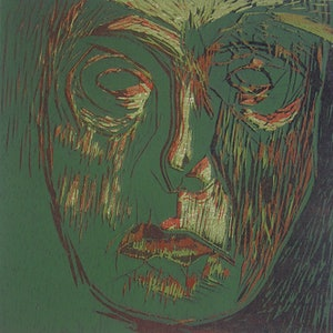 (CreativeWork) Print - Head 8 by Ishbel Morag Miller. print. Shop online at Bluethumb.