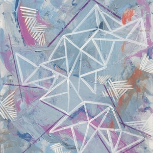 (CreativeWork) Fragmentation by Jessie Beard. mixed-media. Shop online at Bluethumb.