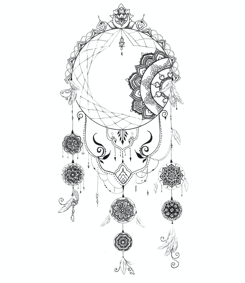 What Are Dream Catchers For Beauteous Dream Catcher Mandala 60 By Octavia Art Paintings For Sale