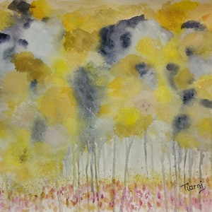 (CreativeWork) Sunshine in greys. Watercolor by Tiarni Badger. watercolour. Shop online at Bluethumb.