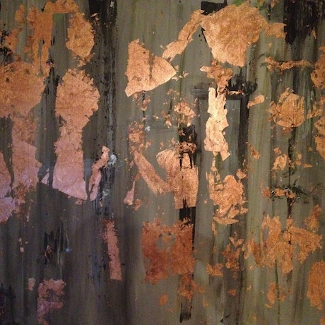 (CreativeWork) Copper Dream by Roberta Sky. Acrylic Paint. Shop online at Bluethumb.