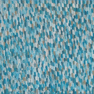 """(CreativeWork) """"AZURE"""" by Alorna & Co. arcylic-painting. Shop online at Bluethumb."""