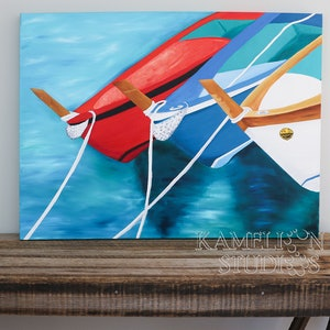 (CreativeWork) Vernazza by Demi Croci. oil-painting. Shop online at Bluethumb.