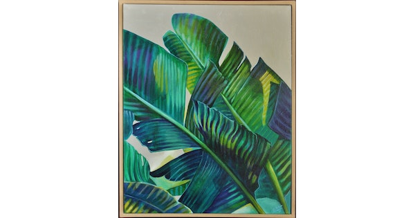 banana leaf bliss by tamara armstrong paintings for sale bluethumb