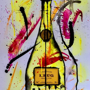 (CreativeWork) Krug  by Leith Kennedy. mixed-media. Shop online at Bluethumb.