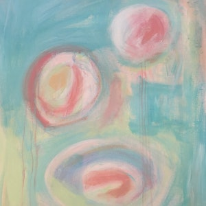 (CreativeWork) Conception by Sonia Dickson. arcylic-painting. Shop online at Bluethumb.