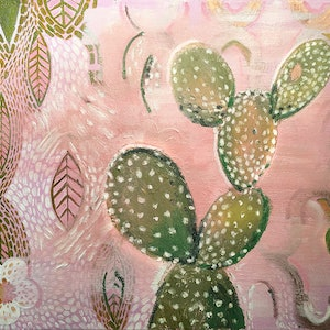 (CreativeWork) Cactus by Donna Christie. other-media. Shop online at Bluethumb.