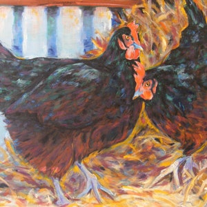 """(CreativeWork) """"Taking turns on the nest"""" by Daniela Selir. #<Filter:0x00007fe990bd8b30>. Shop online at Bluethumb."""