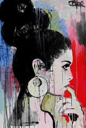 (CreativeWork) NEW WAVE by loui jover. Acrylic Paint. Shop online at Bluethumb.