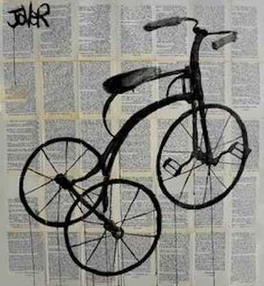 (CreativeWork) RIDE by loui jover. . Shop online at Bluethumb.