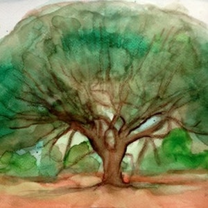 (CreativeWork) Perfect form by Raymond Wittenberg. watercolour. Shop online at Bluethumb.