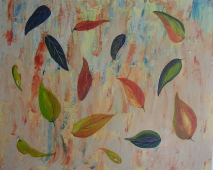 (CreativeWork) Forest Floor by Barbara Payne. arcylic-painting. Shop online at Bluethumb.