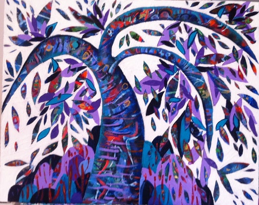 (CreativeWork) Tree Of Life. by Marianne Ulbrick. Acrylic Paint. Shop online at Bluethumb.