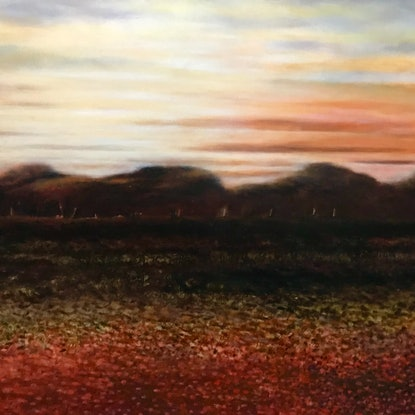 (CreativeWork) OUTBACK LANDSCAPE by LOUISE GROVE WIECHERS. Acrylic Paint. Shop online at Bluethumb.