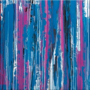 (CreativeWork) Shattered by Bec Monique. arcylic-painting. Shop online at Bluethumb.