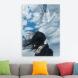 (CreativeWork) Taking Flight by Damian Smith. oil-painting. Shop online at Bluethumb.