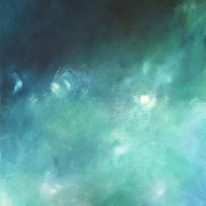 (CreativeWork) Bottom of the Sea by Annabelle Brockman. arcylic-painting. Shop online at Bluethumb.