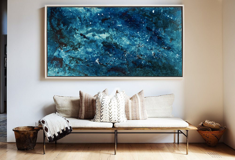 (CreativeWork) 'Pacific' | Ocean' Series by Etre Britta. Resin. Shop online at Bluethumb.