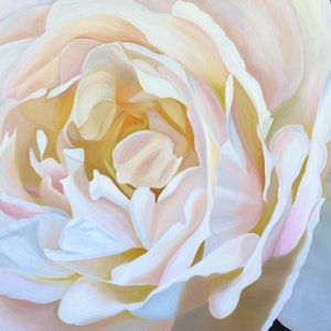 (CreativeWork) Satin and Perfume by Yvonne Hegarty. oil-painting. Shop online at Bluethumb.