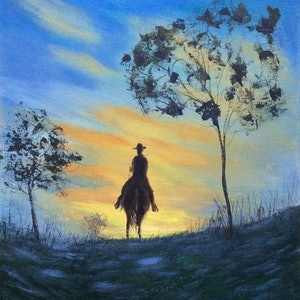 (CreativeWork) The Way Home by Jing Tian. arcylic-painting. Shop online at Bluethumb.