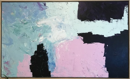 (CreativeWork) Creation by Christopher Broome. arcylic-painting. Shop online at Bluethumb.