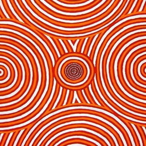 (CreativeWork) Wati Kotara Tjukurrpa at Karrinyarra (Mt. Wedge), 09WJ124 by Walter Jugadai. #<Filter:0x00007f1f943ee9e0>. Shop online at Bluethumb.